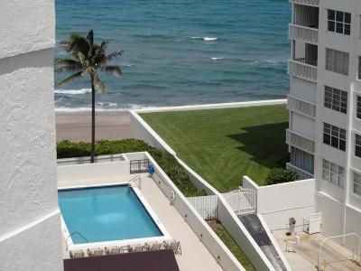 Palm Beach Rental Leased: 3560 S Ocean Boulevard #909