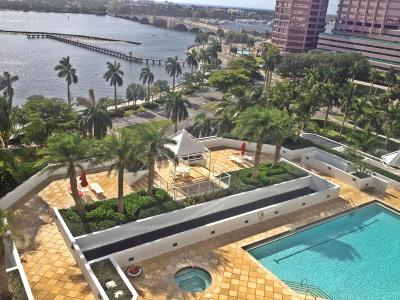 West Palm Beach Rental Leased: 525 S Flagler Drive #10a