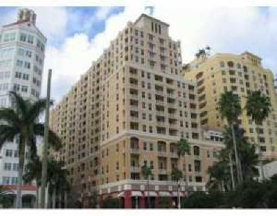West Palm Beach Rental Leased: 255 Evernia Street #1301