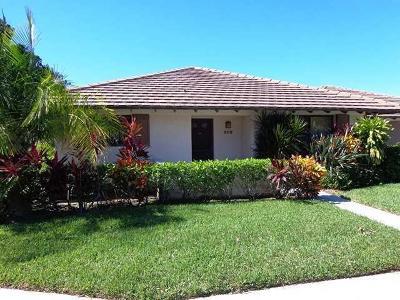 Palm Beach Gardens Rental For Rent: 609 Club Drive