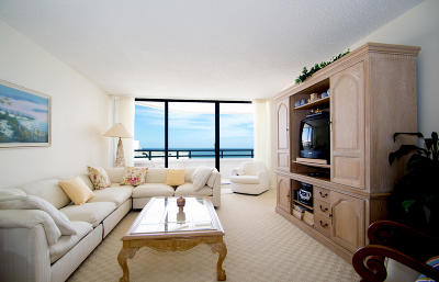 Palm Beach Rental Leased: 3560 S Ocean Boulevard #Ph-06