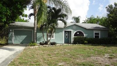 Port Saint Lucie FL Single Family Home Closed: $86,900