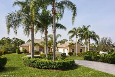 Port Saint Lucie Single Family Home For Sale: 7904 Saddlebrook Drive