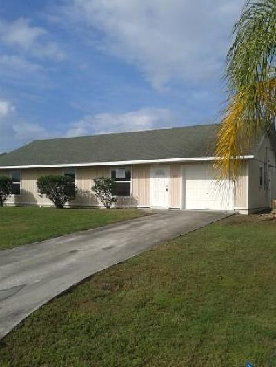 Port Saint Lucie FL Single Family Home Closed: $85,000