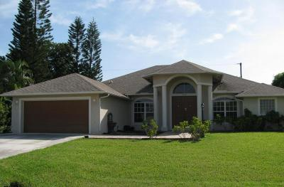 Port Saint Lucie FL Single Family Home Sold: $239,900