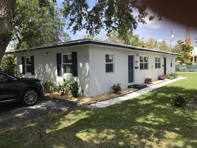Delray Beach Multi Family Home For Sale: 113 S Swinton Avenue