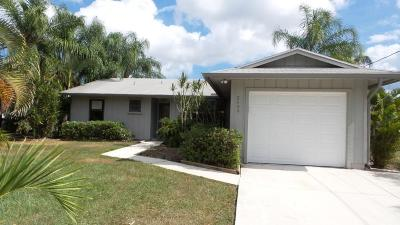 Port Saint Lucie FL Single Family Home Closed: $89,900