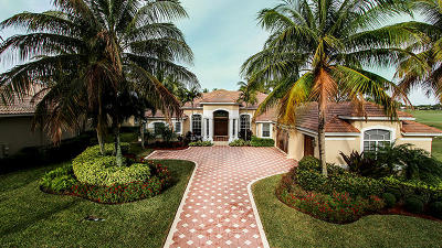 West Palm Beach Single Family Home For Sale: 7677 Hawks Landing Drive