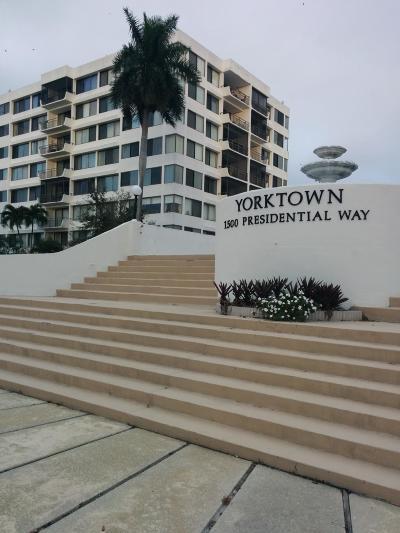 West Palm Beach Rental Leased: 1500 Presidential Way #106