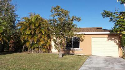 Port Saint Lucie FL Single Family Home Closed: $49,000