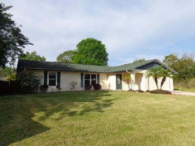 Port Saint Lucie FL Single Family Home Sold: $135,000