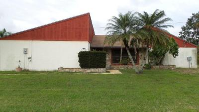 Port Saint Lucie FL Single Family Home: $105,000