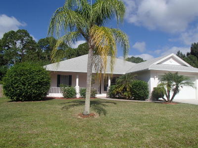 Port Saint Lucie FL Single Family Home Sold: $164,900