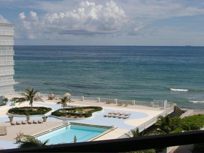 Palm Beach Rental Leased: 3560 S Ocean Boulevard #708