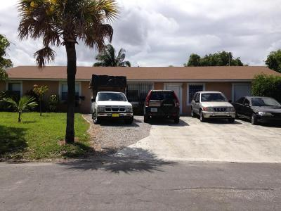 Boynton Beach Multi Family Home Contingent: 403 NW 1st