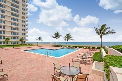 Boca Raton Condo Sold: 600 S Ocean Boulevard #2070