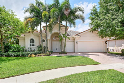 Delray Beach Single Family Home For Sale: 8724 Valhalla Drive
