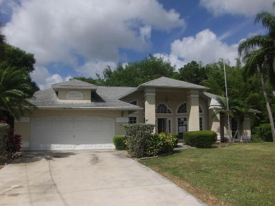 Port Saint Lucie FL Single Family Home Sold: $169,900