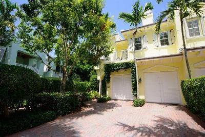 Delray Beach Townhouse Sold: 790 Andrews Avenue #F101