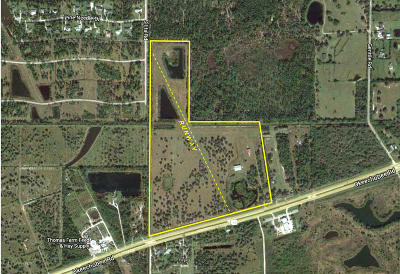 Fort Pierce Residential Lots & Land For Sale: 9950 Okeechobee Road