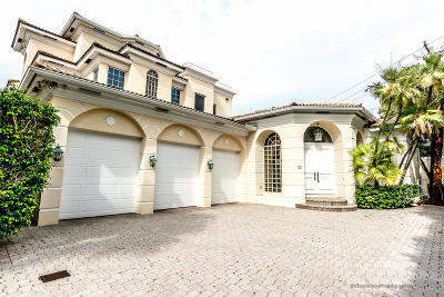 Broward County, Palm Beach County Single Family Home For Sale: 4720 S Ocean Boulevard