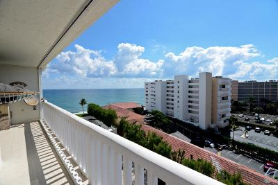 South Palm Beach Condo Sold: 3570 S Ocean Boulevard #807