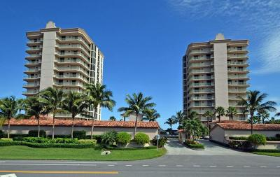 Hutchinson Island FL Condo Closed: $750,000