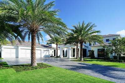 Boca Raton Single Family Home Sold: 300 E Key Palm Road