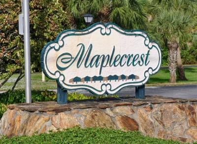 Condo Sold: 334 Maplecrest Circle