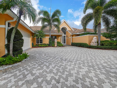 Palm Beach Gardens FL Single Family Home For Sale: $1,099,000
