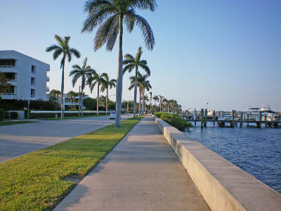 West Palm Beach Rental Leased: 3705 S Flagler Drive #11