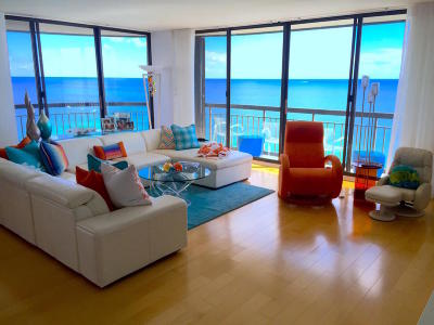 Singer Island Rental For Rent: 4000 Ocean Drive #1801