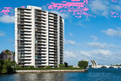 West Palm Beach Condo Sold: 1200 S Flagler Drive #802