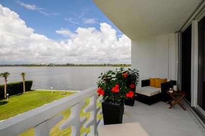 Palm Beach Condo Sold: 2760 S Ocean Boulevard #308