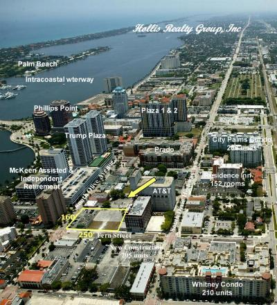 West Palm Beach Residential Lots & Land For Sale: 314 Fern Street & 401 S Olive Ave