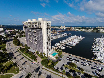 West Palm Beach Condo Sold: 400 Flagler Drive #1405