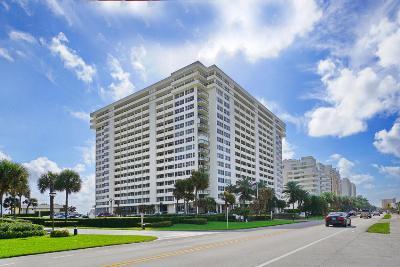 Boca Raton Condo Sold: 2000 S Ocean Boulevard #4-E