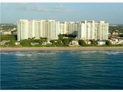 Highland Beach Condo For Sale: 3720 S Ocean Boulevard #201b
