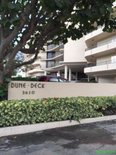 South Palm Beach Condo Sold: 3610 S Ocean Boulevard #604