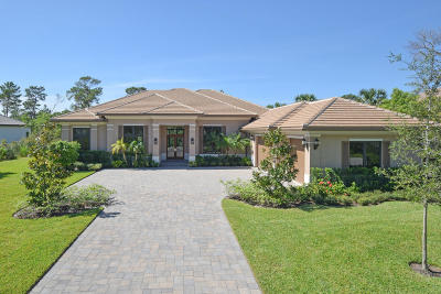 Hobe Sound Single Family Home For Sale: 10046 SE Sandpine Lane