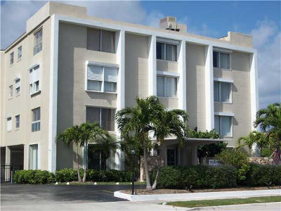 West Palm Beach Rental Leased: 1527 S Flagler Drive #116f