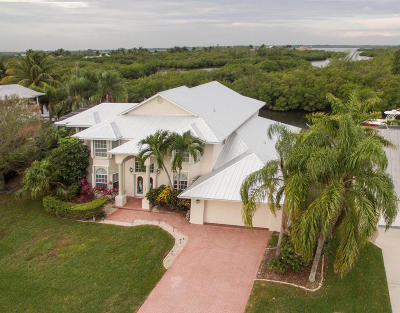 Hutchinson Island FL Single Family Home Contingent: $775,000