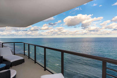 Boca Raton Condo Sold: 250 S Ocean Boulevard #14g