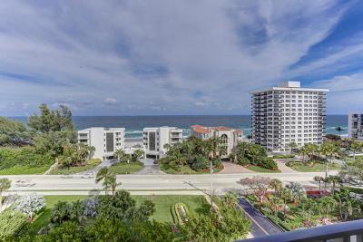 Boca Raton Condo Sold: 2121 Ocean Boulevard #1008e