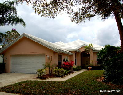 West Palm Beach Single Family Home Contingent: 1215 Gator Trail