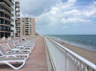 Palm Beach Rental Leased: 3460 S Ocean Boulevard #4110
