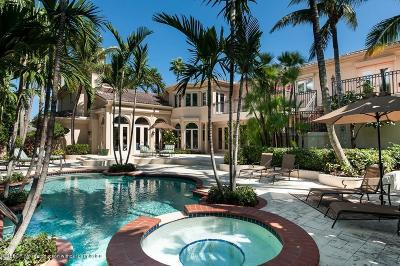 Palm Beach Single Family Home For Sale: 210 Eden Road