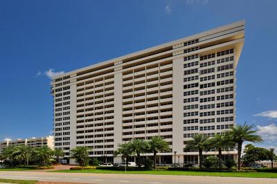 Boca Raton Condo Sold: 2000 S Ocean Boulevard #14-K