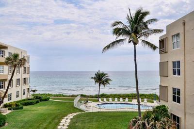 Highland Beach Condo For Sale: 2701 S Ocean Boulevard #36