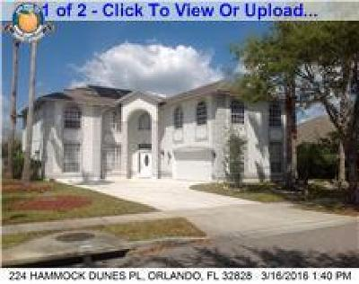 Single Family Home Sold: 224 Hammock Dunes Place